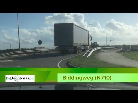 Deel Biddingweg tussen Swifterbant en Biddinghuizen gaat deze zomer zes weken dicht
