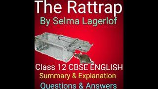 the rattrap class 12 in hindi - Kênh video giải trí dành cho