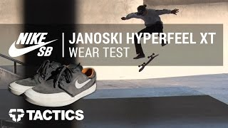 Nike SB Stefan Janoski Hyperfeel XT Skate Shoes Wear Test Review -  Tactics.com