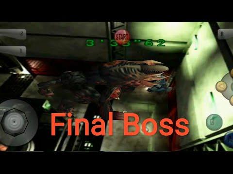 Gameplay Resident Evil 2 - Emulador N64 - Final Boss