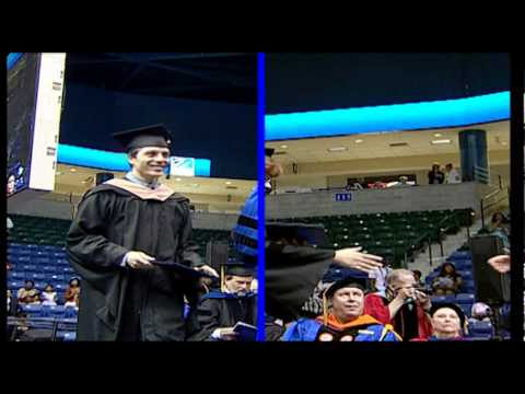 Manning School of Business Masters Degrees - UMass Lowell Commencement (2012)
