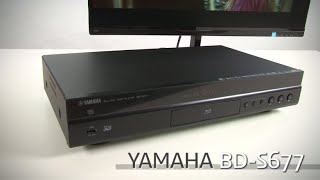 Yamaha BD-S677 Wirless 3D Blu-ray Disc Player Review