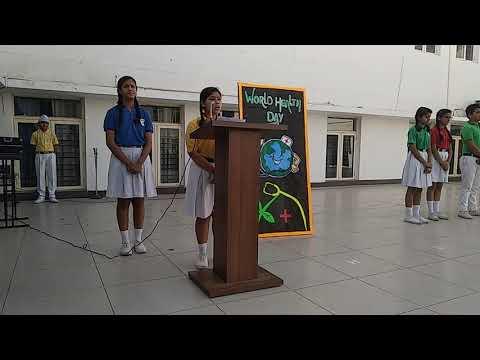 SPEECH ON 'WORLD HEALTH DAY'