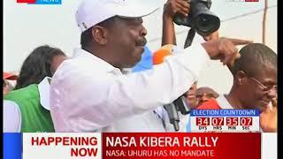 Musalia Mudavadi's full speech during Kibera Rally