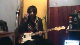 The Gazette - Silly god disco [Guitar cover - Uruha part]