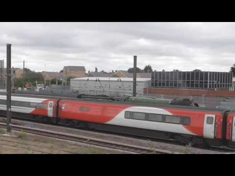 LNER A1 60163 'Tornado' at Peterborough with 'The Robin Hood…
