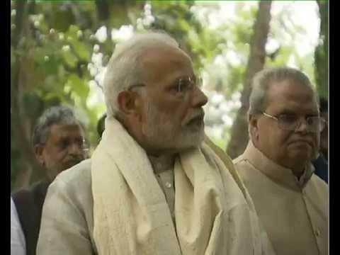 PM Modi attends Concluding Ceremony of Centenary of Champaran Satyagraha in Motihari, Bihar
