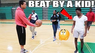 A HIGH SCHOOL KID BEAT ME IN BASKETBALL! I'M TOO OLD FOR THIS  ♂️