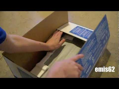 blu ray disc player unboxing