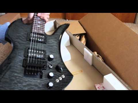 B.C. RICH CUSTOM  PRO X MOCKINGBIRD ST ELECTRIC GUITAR – Unboxing | Review