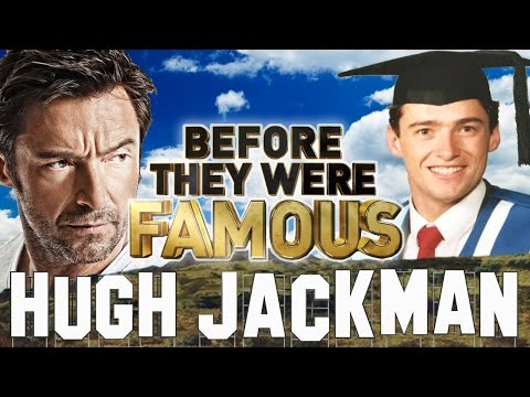 HUGH JACKMAN - Before They Were Famous - LOGAN