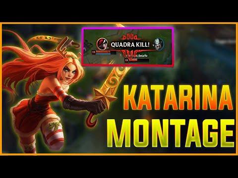 Katarina Montage #13 - Best Plays  Dagger Stuck - League of Legends