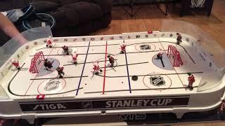 Stiga rod hockey game so much fun