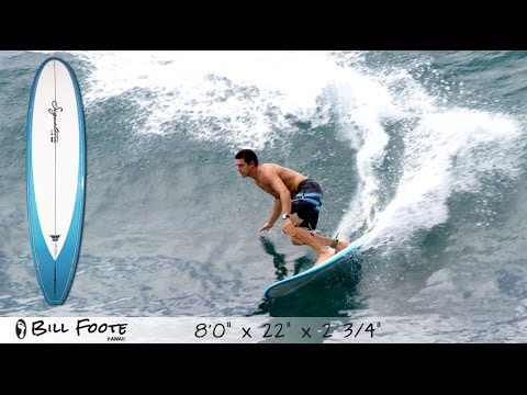 Signature Board Tech with Maui shaper BILL FOOTE 8ft surfboard