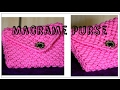 Full Making tutorial of Beautiful Handmade Macrame Ladies Purse| Watch full video HD|Best Creativity