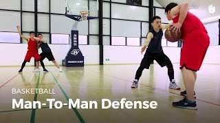 Man-to-man defense | Basketball