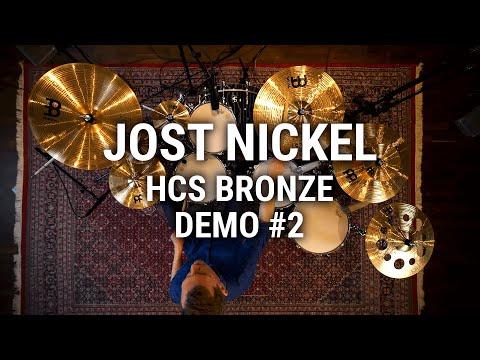 Meinl Cymbals - Jost Nickel - HCS Bronze Demo #2