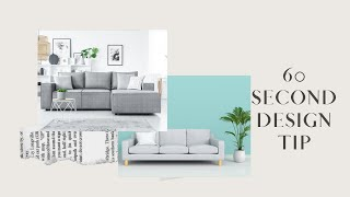 Choosing a New Sofa in 60 Seconds