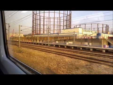 Great Western Main Line from Royal Oak to Acton in March 201…