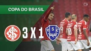 INTERNACIONAL 3 X 1 PAYSANDU - GOLS - 23/05 - COPA DO BRASIL 2019