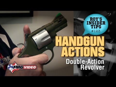 Handgun Actions Part 1: Double-Action Revolver