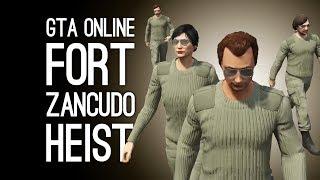 GTA Online Doomsday Heist Server Farm: FORT ZANCUDO HEIST Preparation Mission