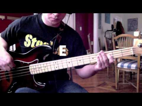 Bass Guitar Chord Tone Series: Lesson 2
