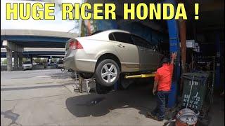 Honda Civic $31 Muffler Delete (GUNSHOT BACKFIRE)