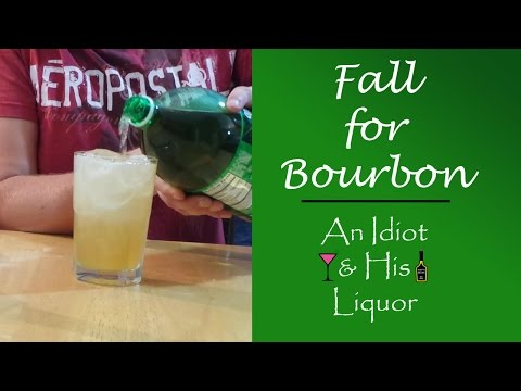 Video Fall for Bourbon - A Jim Beam Drink recipe perfect for Autumn