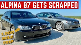 DRIVING 2 TOTALED BMWs 1,000 Miles To Be SCRAPPED