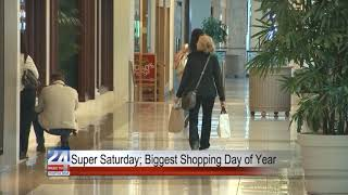 Saturday Before Christmas Expected to be the Biggest Shopping Day of the Year