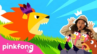 The Lion 🦁  Dance Along   Animal Song   Pinkfong Videos for Children