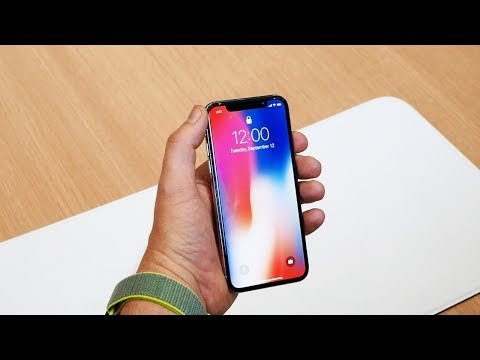 Обзор Apple iPhone X (64Gb, silver, A1901)
