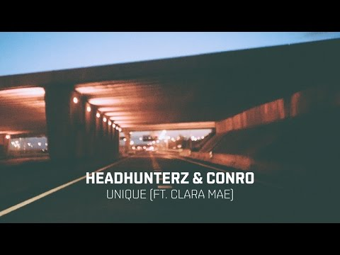 Headhunterz & Conro - Unique Feat. Clara Mae (Cover Art)