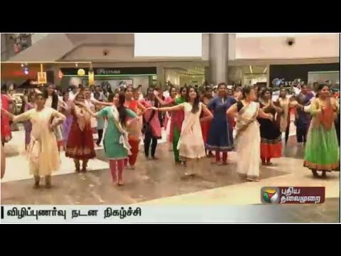 Flash-mob-at-Vadapalani-with-about-100-performers-for-creating-awareness-on-voting