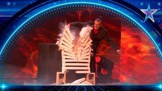 SANGRE, SUDOR y LÁGRIMAS en este MACABRO número   Semifinal 2   Got Talent España 5 (2019)