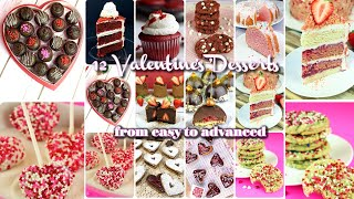 FUNKY RELAXING! 12 Vegan Valentine's Day Desserts from EASY to ADVANCED by Gretchen's Bakery