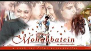 Mohabbatein Love Theme Instrumental