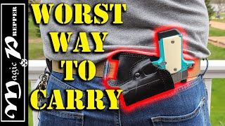 Is Small of the Back Carry Viable? | Concealed Carry Positions
