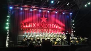The Alexandrov Red Army Chorus , ( Alexandrovci ) , Svatá válka , Praha , 17.10.2015