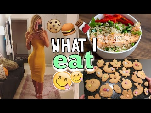 WHAT I EAT IN A DAY | BAKE AUTUMN TREATS WITH ME!!
