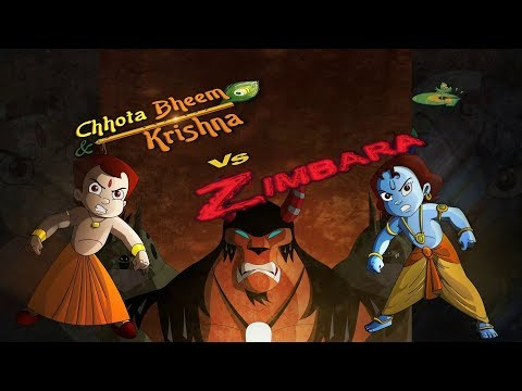 chhota bheem aur krishna vs zimbara movie song green gold kids
