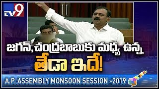 YCP MLA Bhumana Karunakar Reddy praises YS Jagan in AP Assembly - TV9