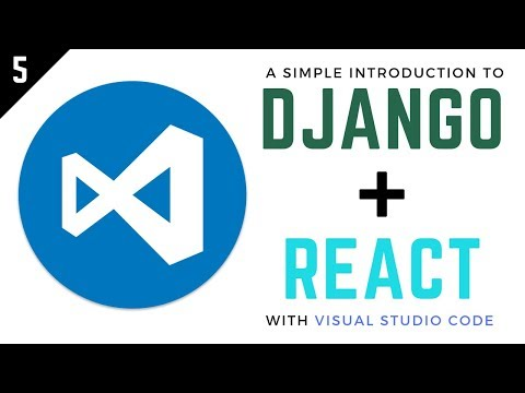 Django and React Tutorial // 3 - Authenticate Users with React and