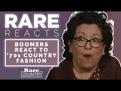 Baby Boomers React to '70s Country Fashion | Rare Reacts