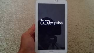 Free Unlock your Samsung Tab 3 7.0 8.0 Factory Reset/Restore Setting Must See (Easy)