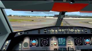 FSX] BlackBox Simulation Airbus Widebody Xtreme Prologue landing at