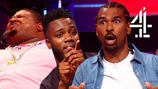 LOSING IT Over Insults with David Haye, Big Narstie & Mo Gilligan!! | The Big Narstie Show - dooclip.me