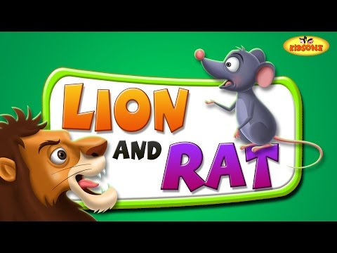 Lion and Rat Moral Story | Bedtime Inspirational Story For Kids