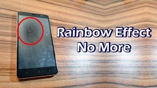 How to Remove Rainbow Effect from Tempered Glass